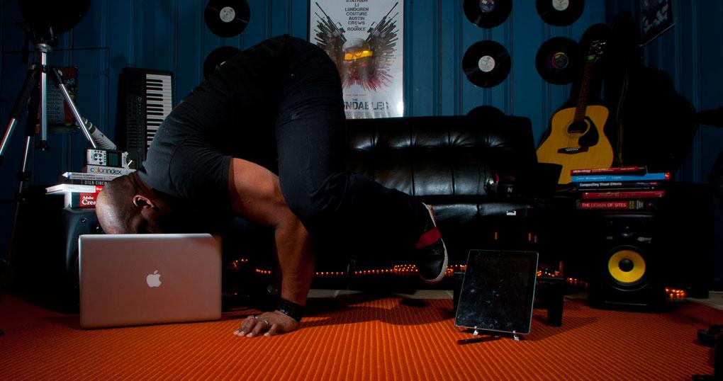 Mixmediasalad Yoga
