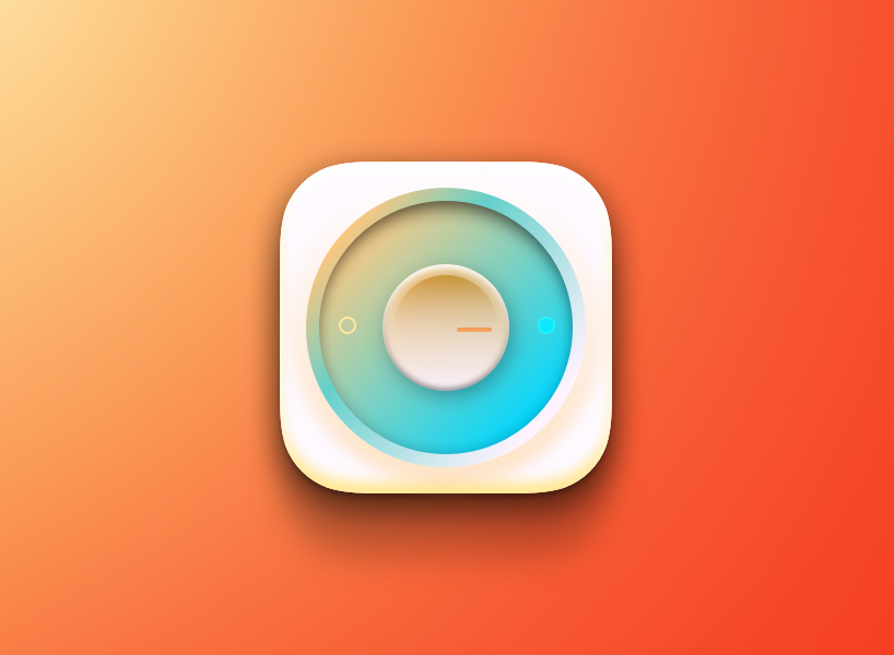 Icon IOS illustration made in Sketch 3