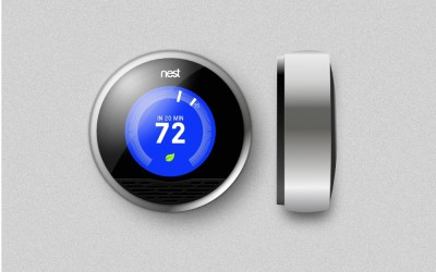 Product Illustration – Nest Thermostat